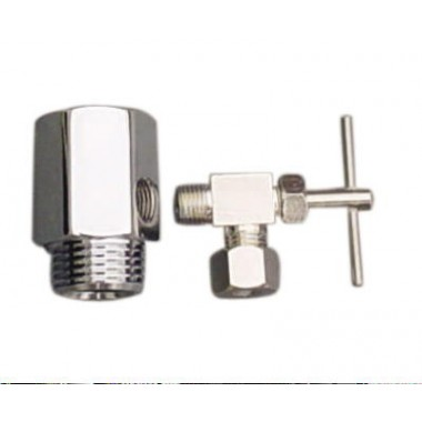 720, Feed Water Adapter with Needle Valve