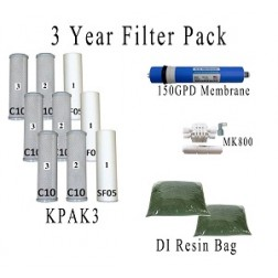 Value Pack- Entire 3 Years of Replacement Filters and Maintenance Kit for AR122 System