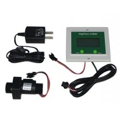 """FM6710-44TM, Panel 1/2"""" Digiflow Digital Flow Meter count up Gallons GPM 115V cord"""