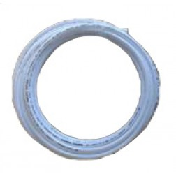 "718TB38, Tubing, 20 feet 3/8"" white tube LLDPE PE for drinking water"