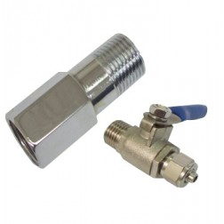 723, Feed Water Adapter with Ball Valve