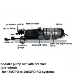 773, Booster Pump Assembly Large 150-200GPD RO systems SET