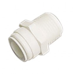 AMC-0407, Male Connector NPT Thread Quick Connect Fitting 1/4 1/2