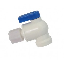 CBV-0404, Tank Ball Valve to 1/4 OD Tubing