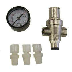 CPR-150G, Pressure Regulator with Pressure Gauge  (0-125 psi)