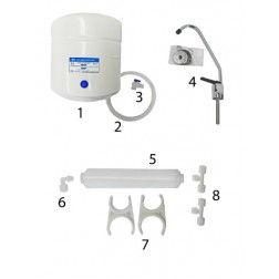 Conversion Kit, Convert Aquarium to Drinking RO Water System