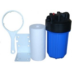 """1. WH-5, Whole House Water Treatment Sediment Filter System 10"""" BB Big Blue"""