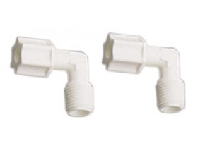 """4044-K qty 2 Male Elbow Fitting Compression type 1/4"""""""