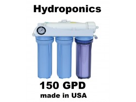 .HK120 Hydroponics RO Reverse Osmosis Water System 150GPD Plants Garden